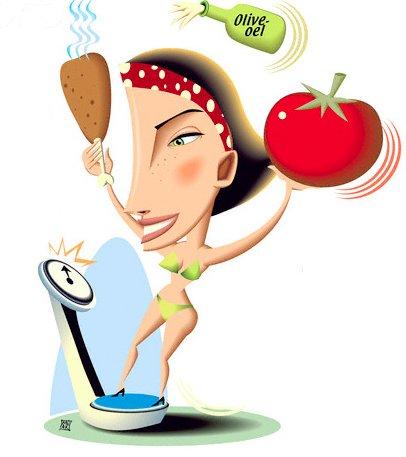 dietas para perder peso en una semana